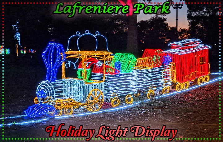 Lafreniere Park Holiday Light Display